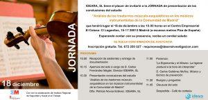 invitacion jornada PRL musicos