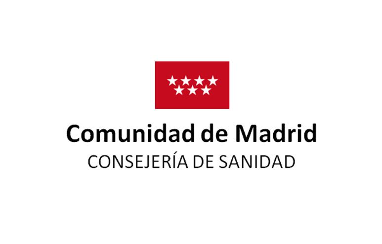 Logo Consejería de sanidad de la comunidad de Madrid